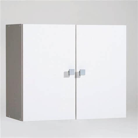 meuble haut de salle de bain 2 portes a suspendre grimsby