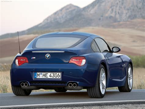 Bmw Z4 M Coupe Picture # 34 Of 65, Rear Angle, My 2006