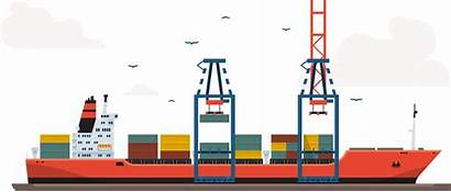 Port Logistics Order Lies Disorder Between Line