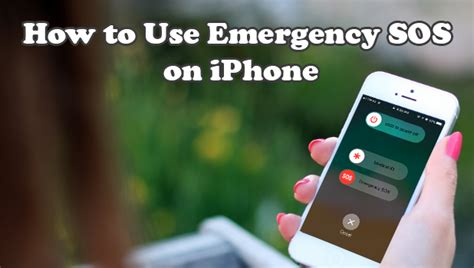 How to Setup and Use Emergency SOS on iPhone iOS 11