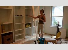 Smart Girls DIY Turning IKEA shelves into builtins