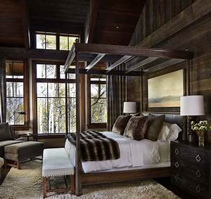 40, Amazing, Rustic, Bedrooms, Styled, To, Feel, Like, A, Cozy, Getaway