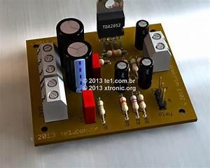 Amplificator Audio De Putere 60w Cu Tda2052