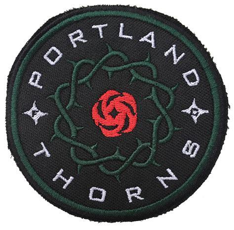 thorns logo bootleg ptfc patch patrol