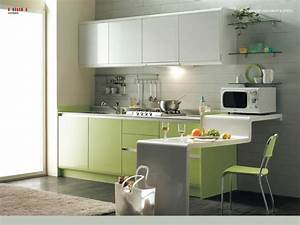 paint wall color ideas for small kitchen green grey white With interior kitchen design photos for small space