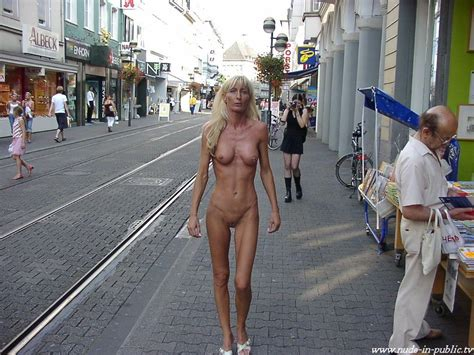 Sexy Skinny Mature Women Walk Nude In A German City Picture Uploaded By Adick On