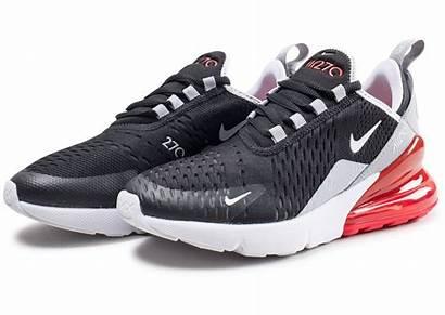 Nike 270 Junior Rouge Noir Noire Chaussures