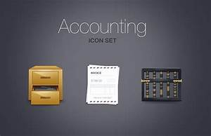 Accounting Icon Set — Medialoot