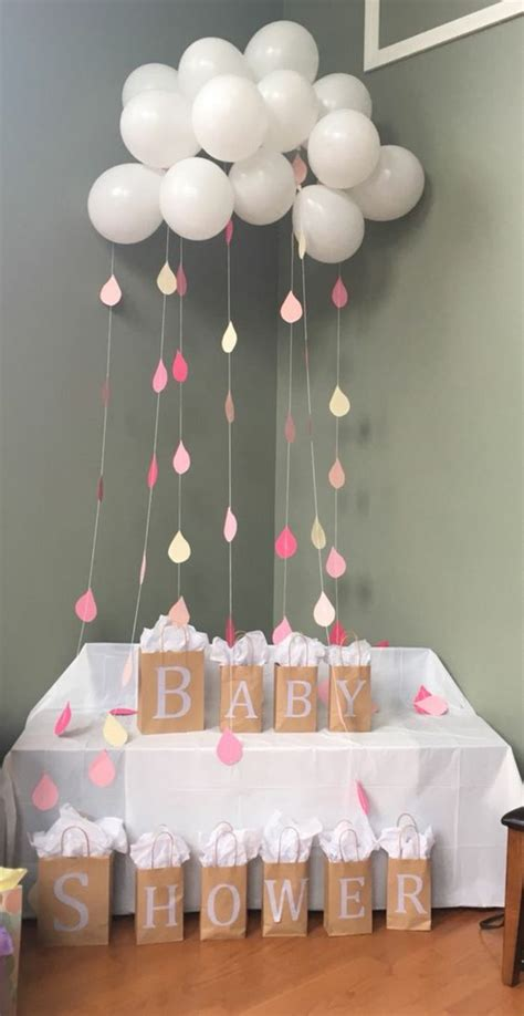 idees creatives pour organiser une baby shower