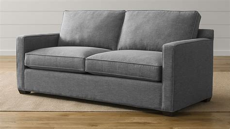 crate and barrel sofas and loveseats davis down blend sofa crate and barrel