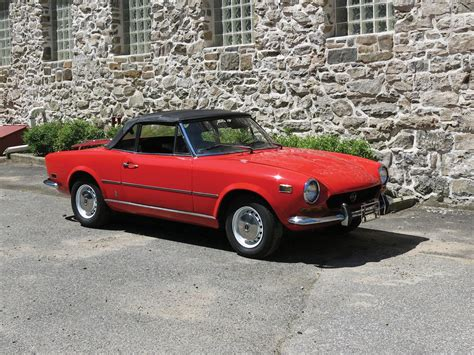 1973 Fiat 124 Spider by Rm Sotheby S 1973 Fiat 124 Spider Auburn Fall 2018
