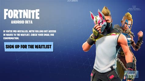 install fortnite   android device