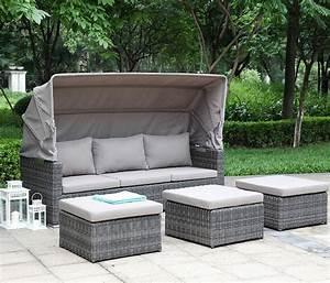 Zebra Jack Lounge : zebra jack lounge sessel 5271 polyrattan halbrund faser taupe sitz r cken kissen ~ Orissabook.com Haus und Dekorationen