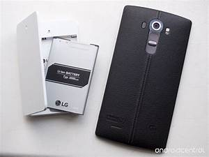 Quick Look  The Lg G4 Official Extra Battery Kit