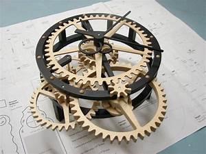 Wood Work Wooden Gear Clock Plans Free Dxf PDF Plans