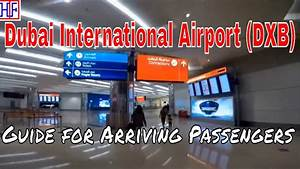Dubai International Airport  Dxb   U2013 Arrivals And Ground