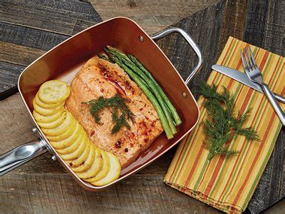 square pan     copper chef rural mom