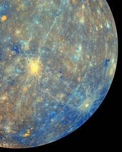 An Enhanced Image of Planet Mercury - NASA