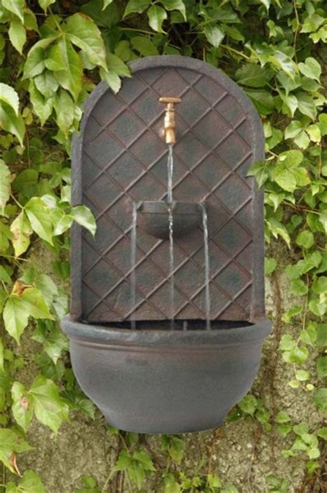 outdoor hanging water fountains outdoor classics messina solar wall fountain traditional outdoor fountains and ponds