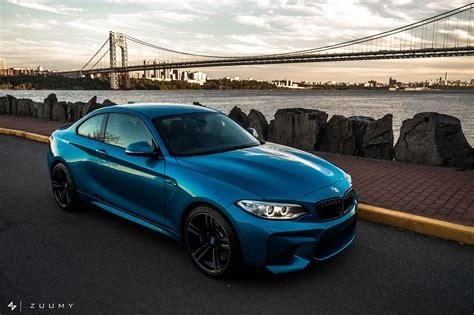 A Long Beach Blue Bmw M2 Photoshoot