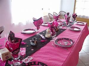 Decoration Pour Bapteme Fille : idee decoration table bapteme fille ~ Mglfilm.com Idées de Décoration
