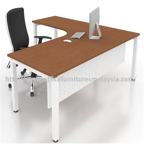 table and l in one office modern l shape table desk malaysia price damansara