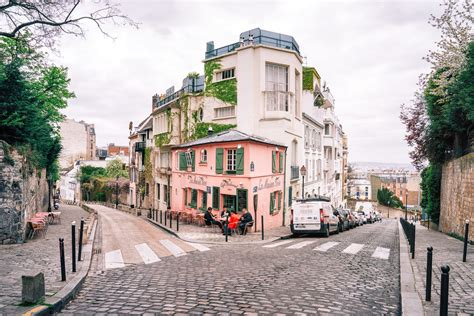 montmartre la maison a view looking out tow flickr