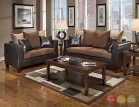 Brown Leather Sectional Living Room Ideas by Excellent Brown Living Room Furniture For Home Brown