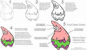 How to Draw Patrick: Beginners by dwightyoakamfan on ...