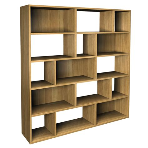 ideas  contemporary oak shelving units