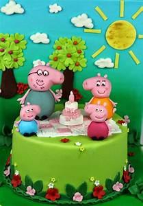 Peppa Pig Birthday Cake Ideas Children's Birthday Cakes