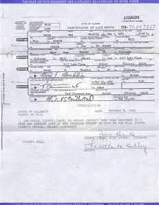 Illinois Birth Certificate Form
