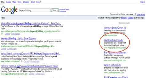 keyword bid keyword bidding we re