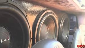 Insane Car Stereo System W   1loudmofo  U0026 6 15 U0026quot  Dc Audio