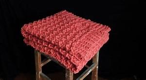 Tricoter Un Plaid En Grosse Laine : un plaid tricoter tricot knitting kits plaid crochet et blanket ~ Melissatoandfro.com Idées de Décoration