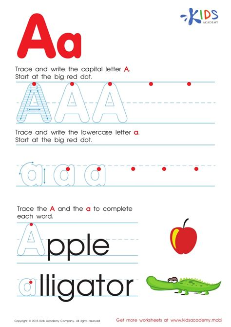 free abc worksheets for toddlers free alphabet worksheets for kids a z