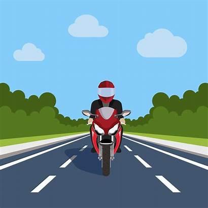 Vector Motorbike Motorcycle Road Bike Motor Highway