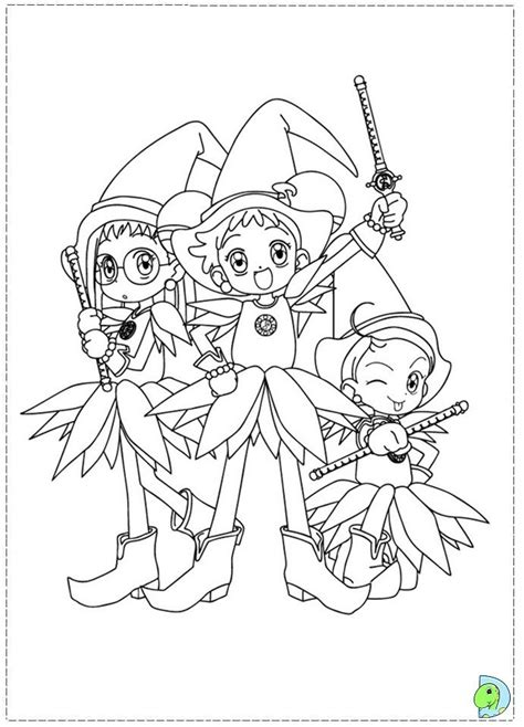 magical doremi coloring pages coloring home