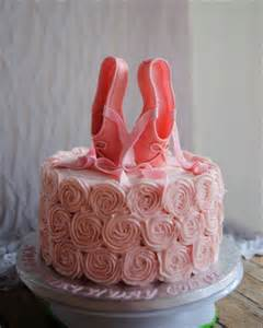 Pink Ballerina Birthday Cake