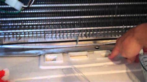 fix  leaking refrigerator frozen defrost drain