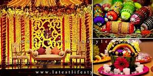 Mehndi Decoration Ideas: Stage, Flowers & Hall Life with