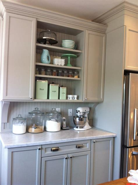 baking kitchen design white wood the baking hutch is complete 1453