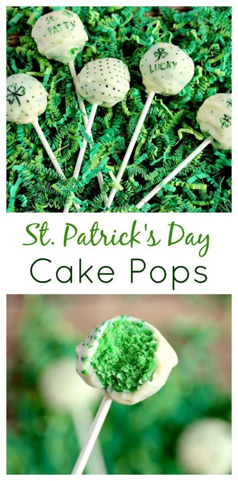 st patricks day green cake pops gluten  friendly