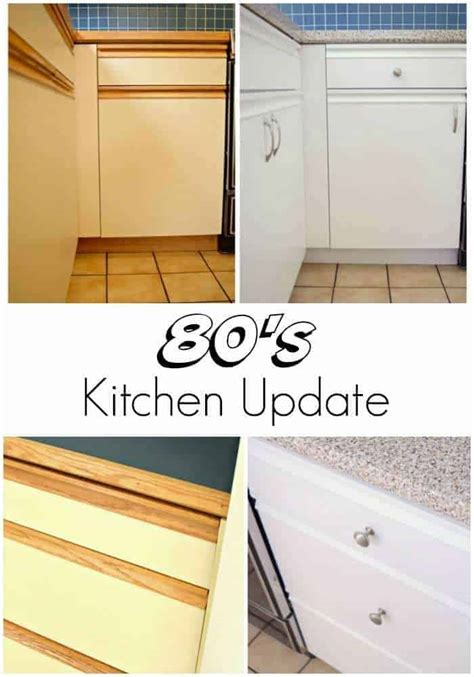 painting 1980s kitchen cabinets 80s kitchen update reveal the handyman s 4008