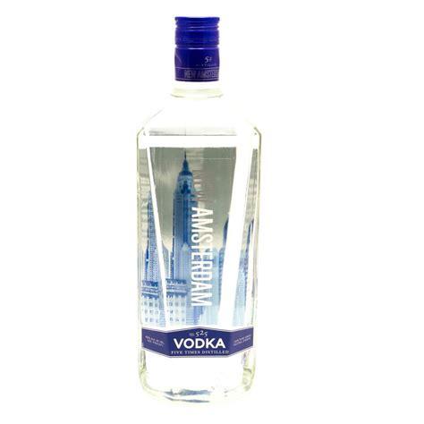 new amsterdam vodka new amsterdam vodka 1 75l beer wine and liquor delivered to your door or business 1 hour
