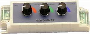 Rgb Manual Controller 4a  3x Knob
