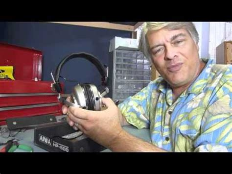 Aiwa Hp500 Diy Modified Headphone Review Youtube
