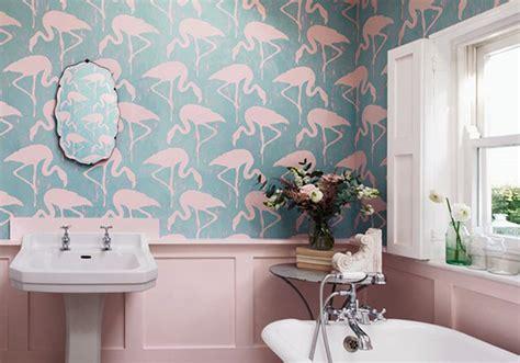 j ose le papier peint dans ma salle de bains d 233 coration