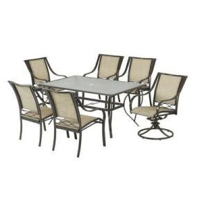 martha stewart wellington metal dining set with table