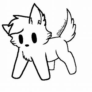 Chibi dog lineart by Frgt10Kat-Adoptz on DeviantArt